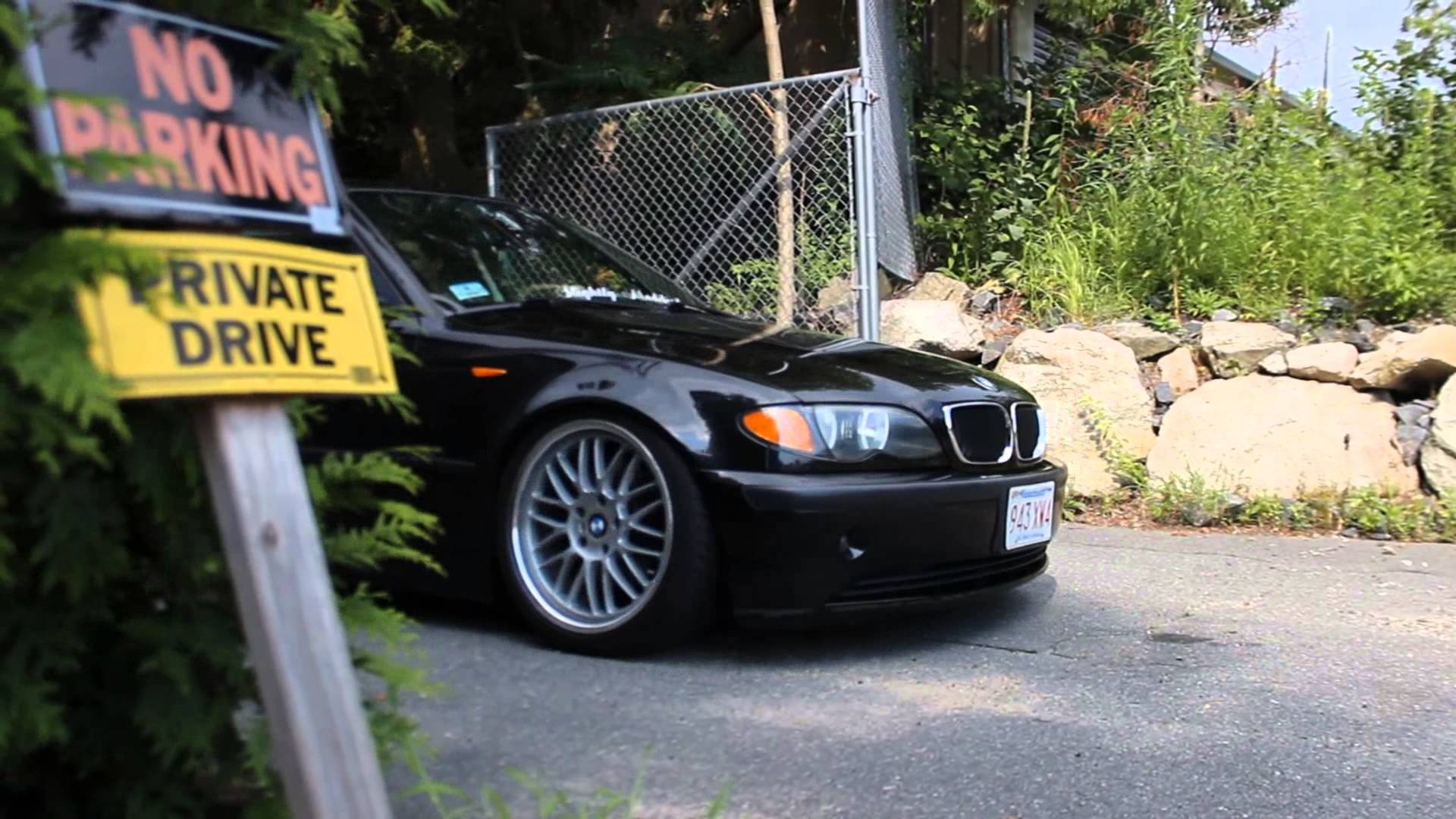 slightly modified bmw e46 youtube