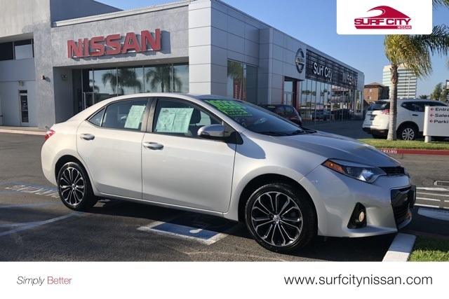 2016 toyota Corolla Modified Unique Pre Owned 2016 toyota Corolla S Plus 4d Sedan In Huntington Beach-1080 Of New 2016 toyota Corolla Modified
