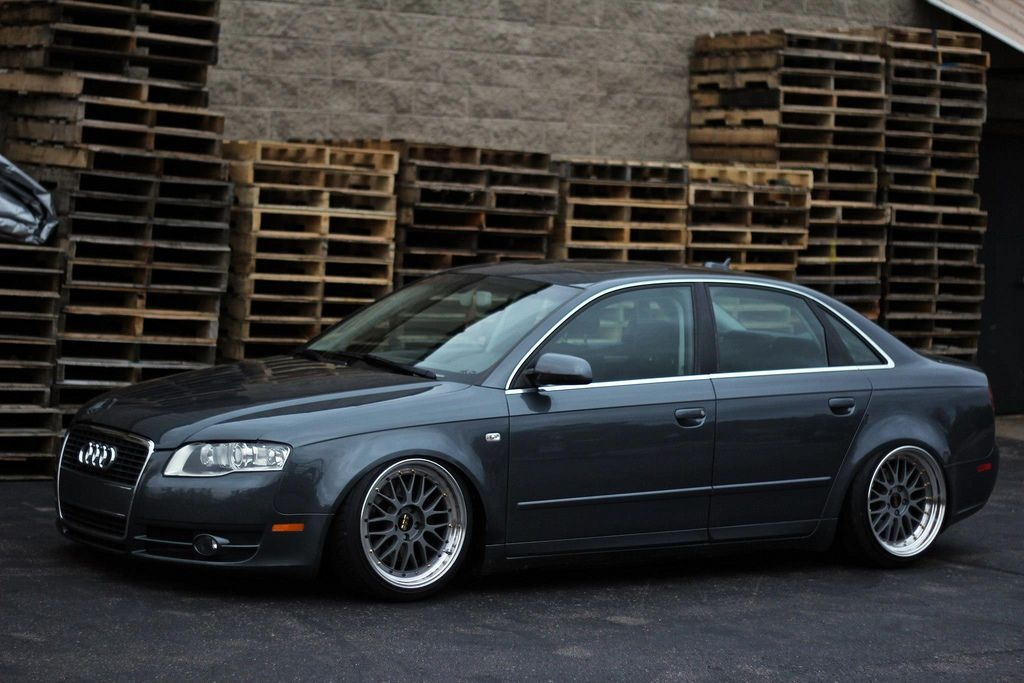 audi a4 b7 some stance und fitment crap