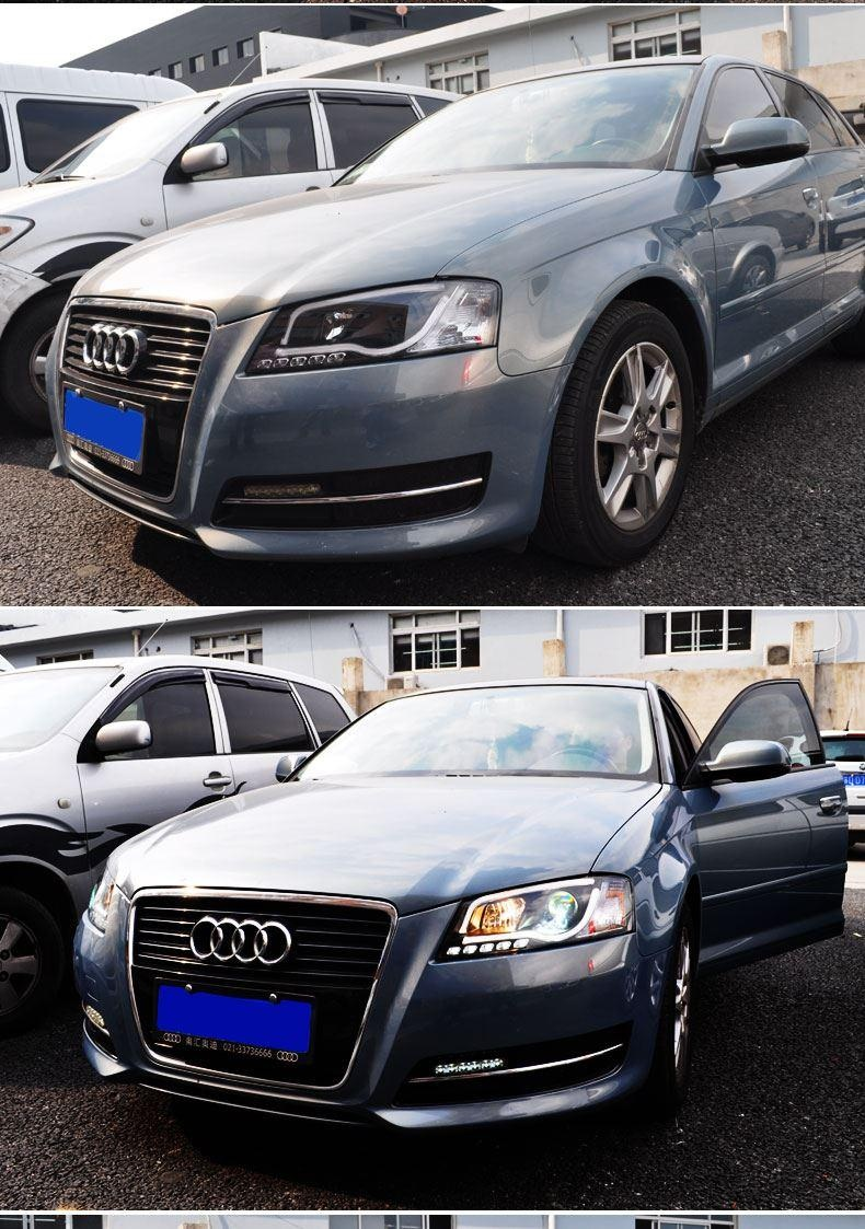 for xiushan 08 12 audi a3 lamp light led with modified xenon lamp