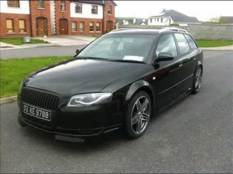audi a4 b6 front change to b7 with rieger kit stuningreal tuning