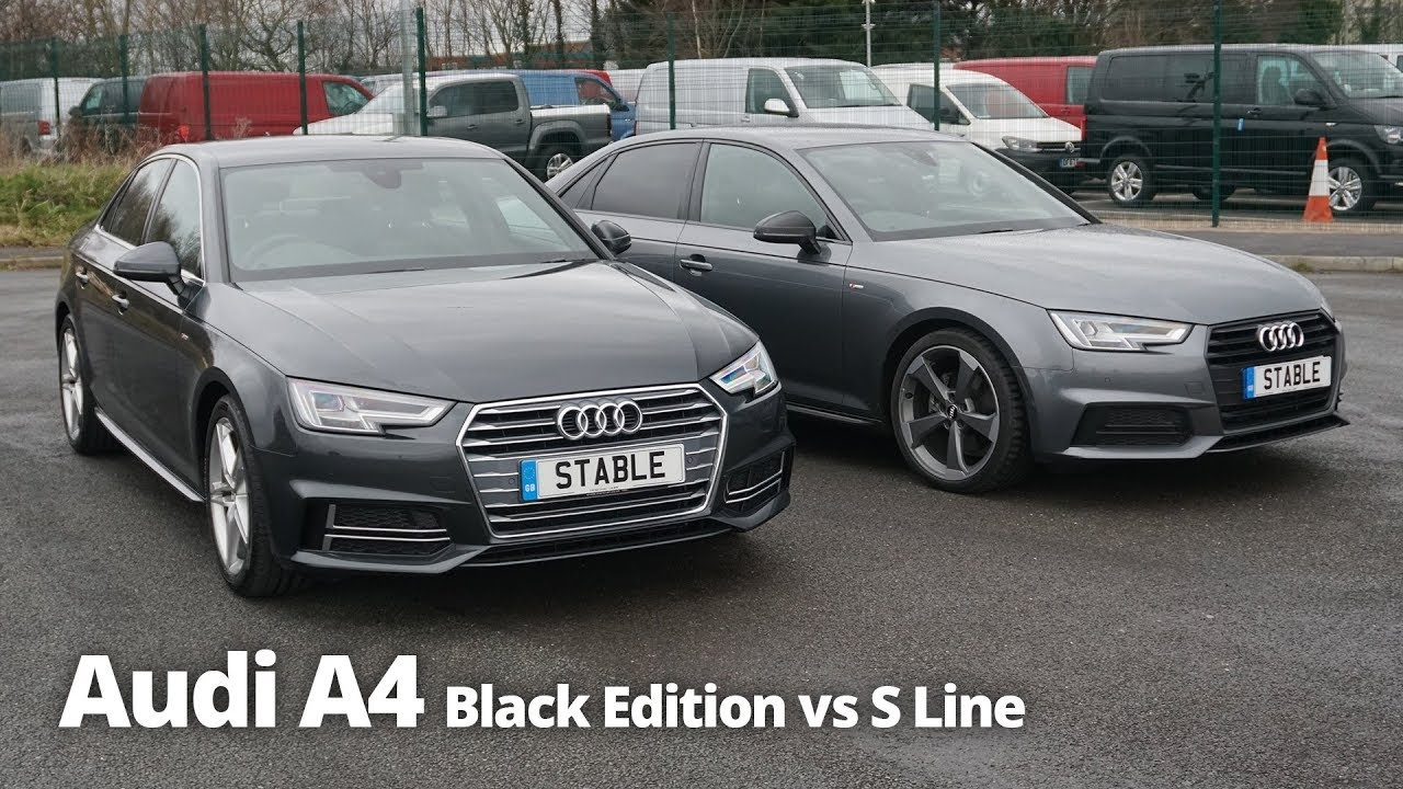 Audi A4 2003 Modified Lovely Audi A4 Saloon Black Edition Vs S Line Stable Lease Youtube-1458 Of Lovely Audi A4 2003 Modified