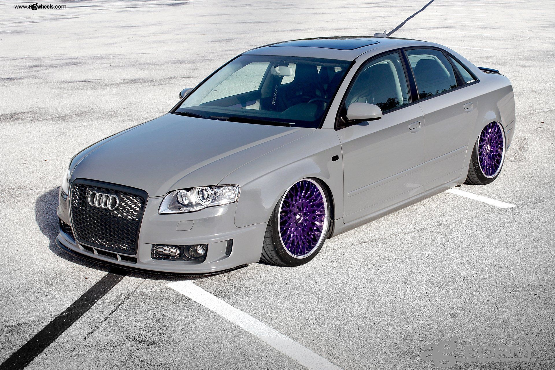 Audi A4 2004 Modified Inspirational Gray Audi A4 On Custom Purple Avant Garde Rims Yay or Nay Car-2563 Of Beautiful Audi A4 2004 Modified