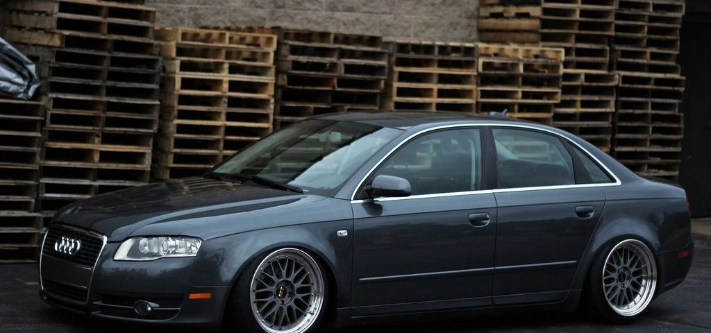 Audi A4 2005 Modified Elegant Audi A4 B7 some Stance Und Fitment Crap-1970-1970