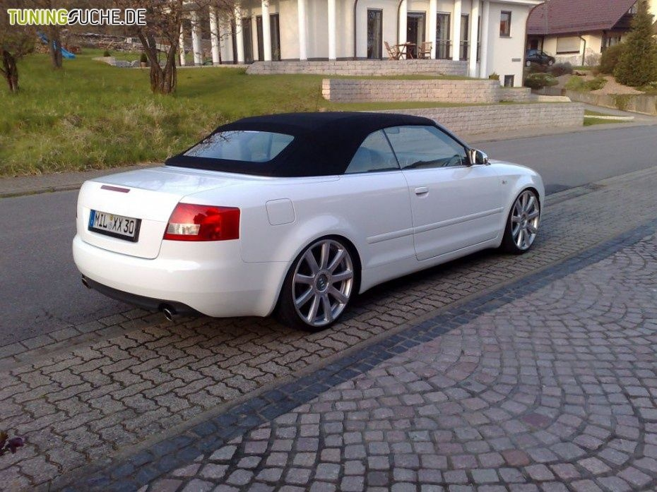 Elegant Audi A4 Convertible Modified 1645 Fast And Modified