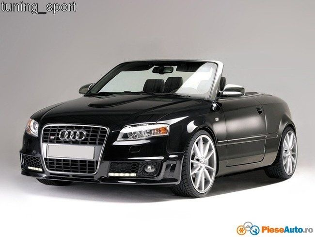 Audi A4 Convertible Modified Unique Poze Kit Exterior Audi A4 B7 8h Cabrio Body Kit Rs4 Look Motorv-1645 Of Elegant Audi A4 Convertible Modified