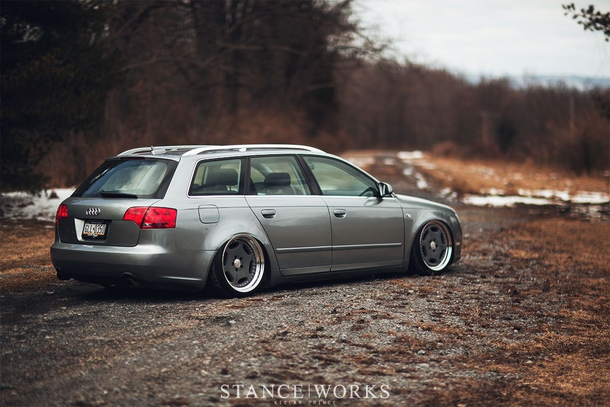 Audi A4 Estate Modified New Audi A4 Avant Stanced Auto Audi Wagon Audi Audi A4-1840 Of Luxury Audi A4 Estate Modified