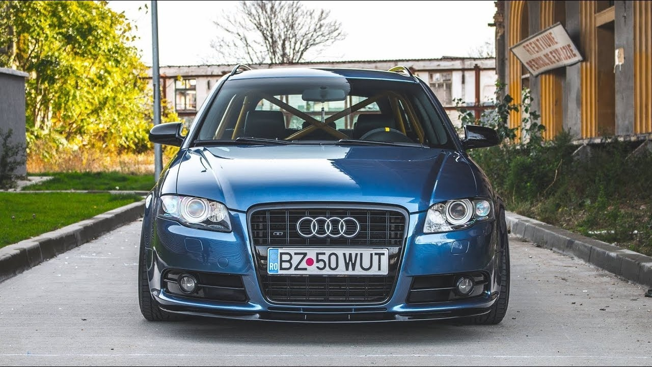 audi a4 b7 avant s line tuning project by daniel calin youtube