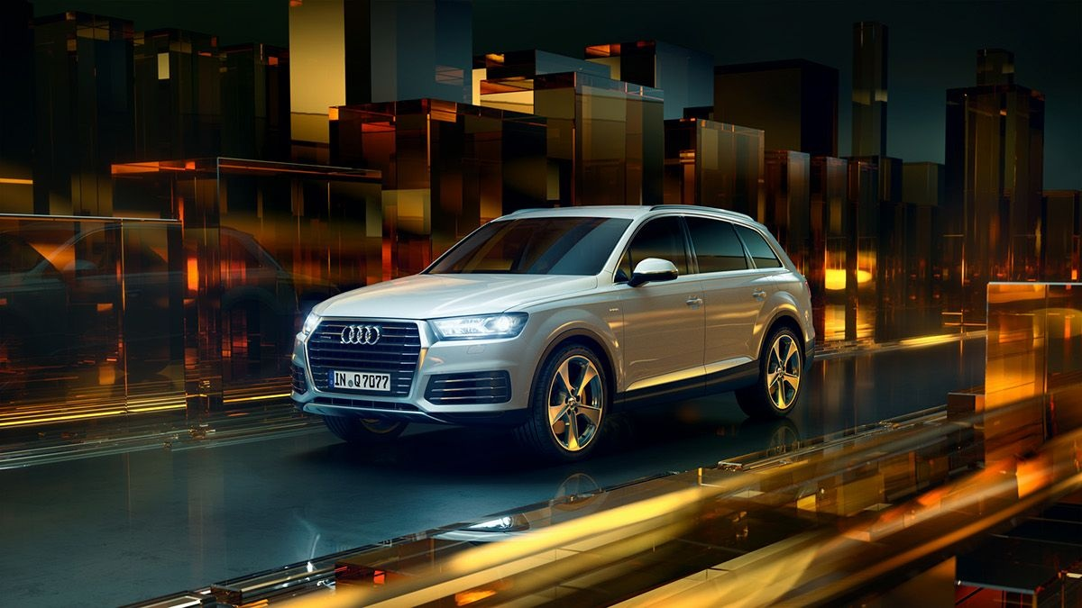 audi q7 e tron full cgi on behance auto pinterest behance