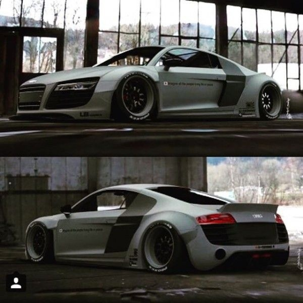 liberty walk lba˜†works audi r8 r libertywalk lbperfomance audi