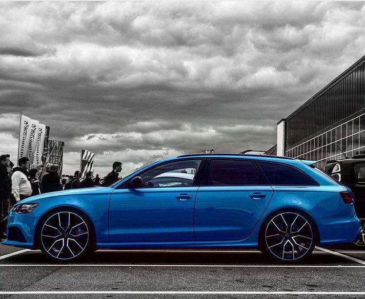 rs6 in miami blue rs6p audi rs6 in miami blue touring estate cars