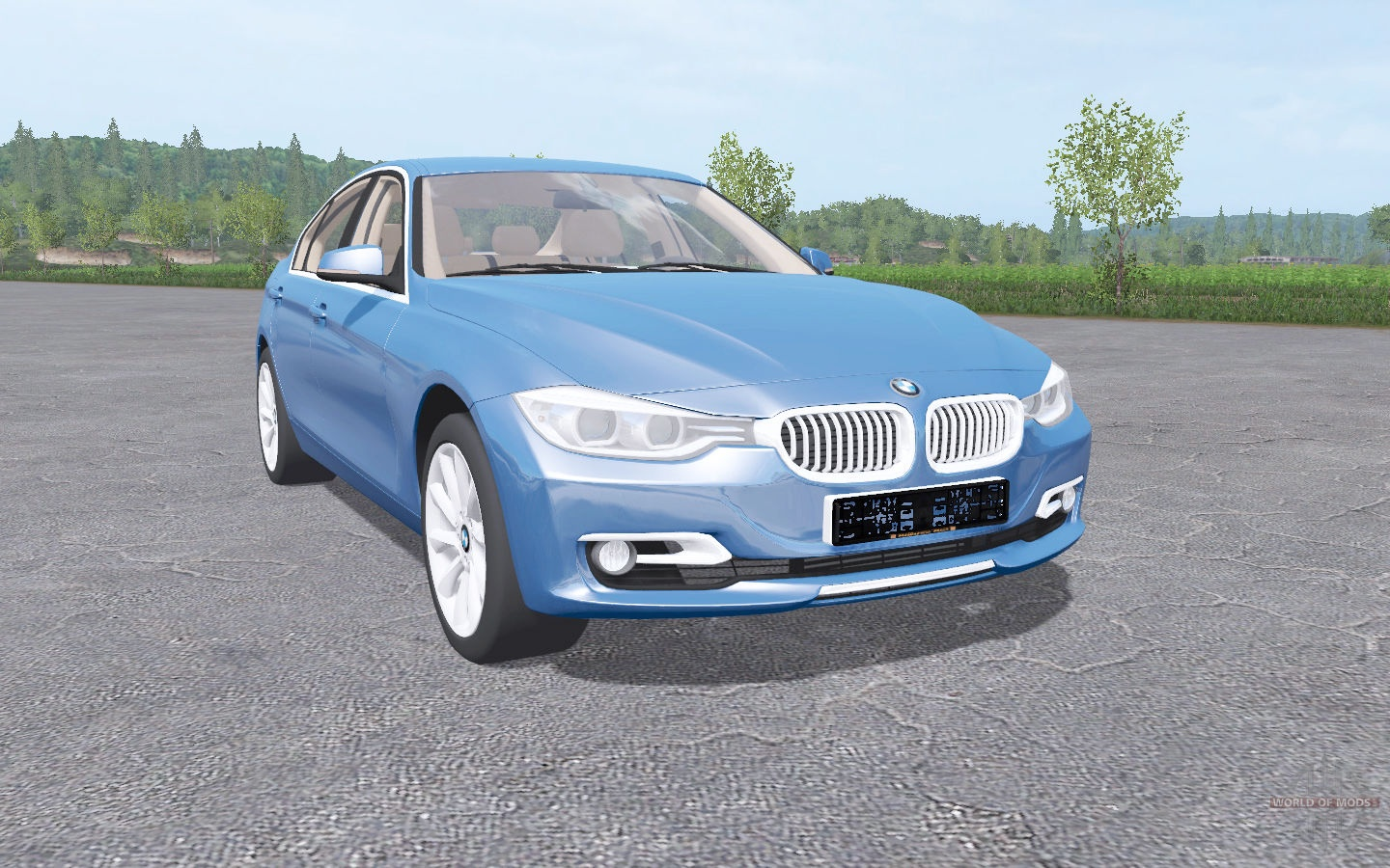 bmw 328i sedan f30 2012 for farming simulator 2017