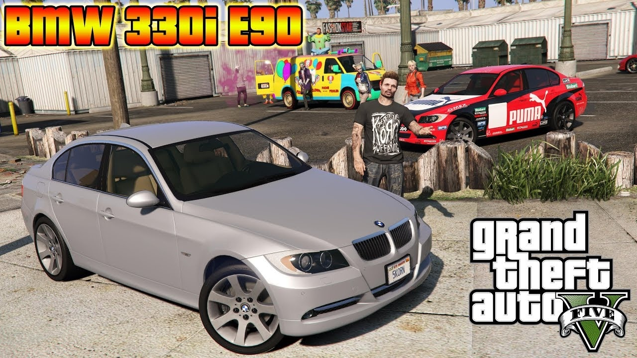 Bmw 330i Modifications Awesome 2007 Bmw 330i E90 Add On Replace Gta5 Mods Com Of Lovely Bmw 330i Modifications