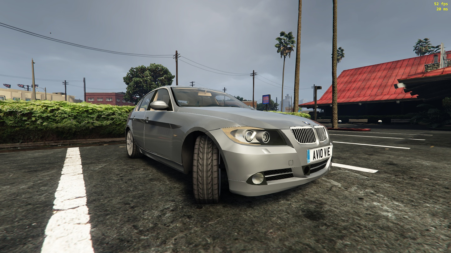2010 bmw 330i replace gta5 mods com