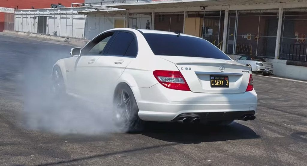 C63 Modified Lovely Nine Year Old Does A Burnout In His Dads Mercedes Benz C63 Amg-1606 Of Inspirational C63 Modified