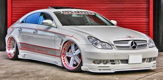 mercedes benz cls550 stance on forgiato wheels cool cars
