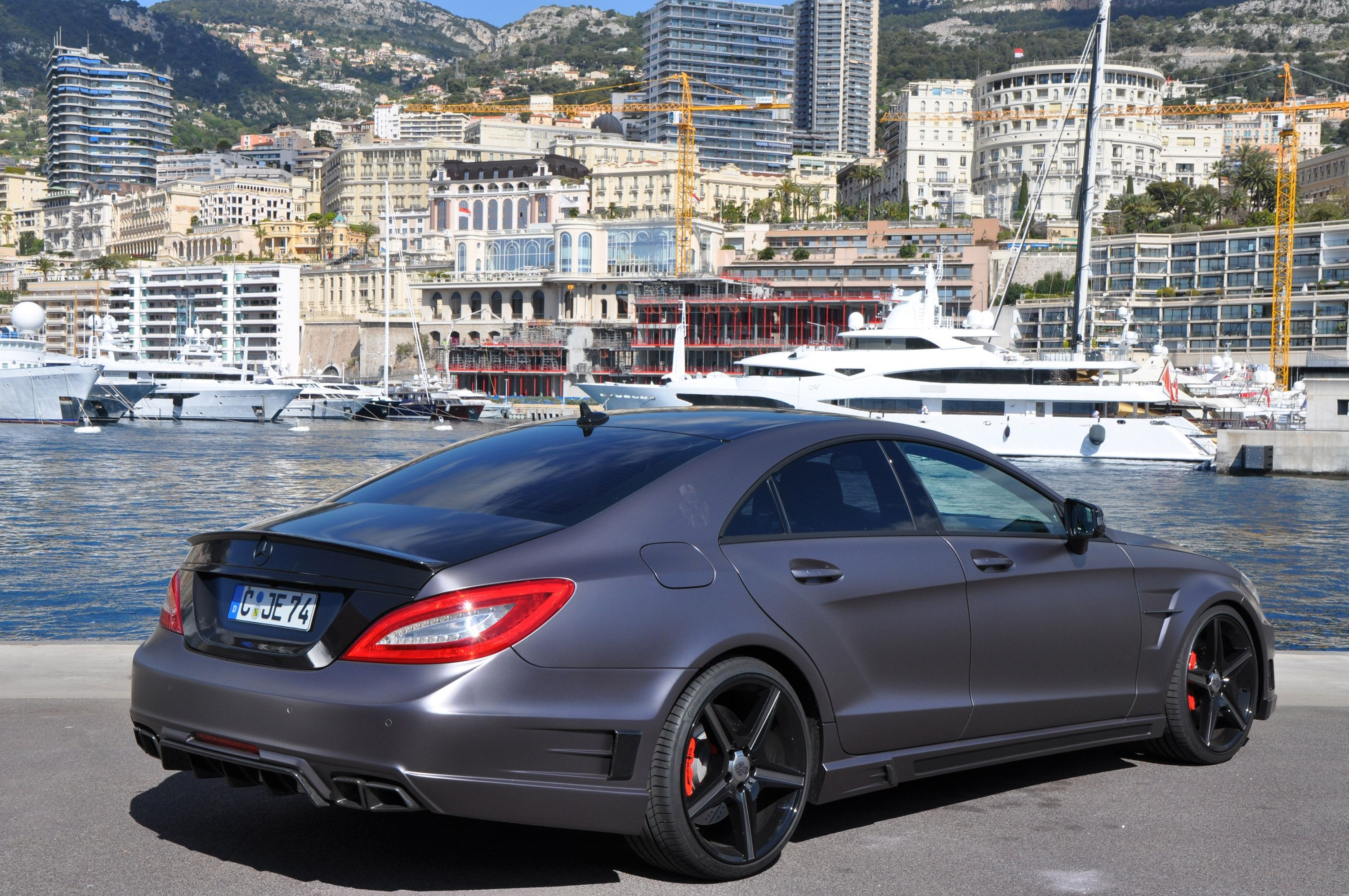 the german special customs mercedes benz stealth cl563 amg cars