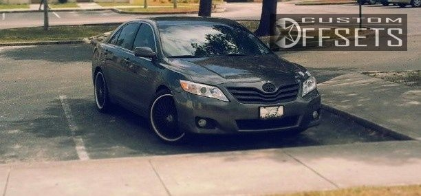 Custom Camry Elegant Wheel Offset 2010 toyota Camry Slightly Aggressive Lowered On-1150 Of Elegant Custom Camry