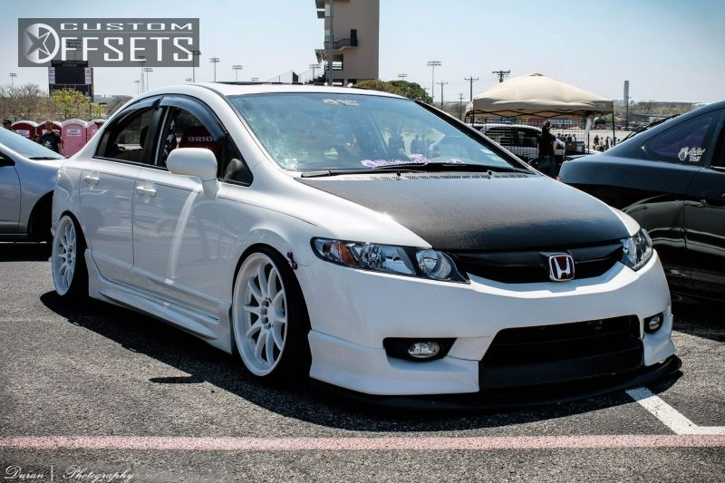 wheel offset 2011 honda civic hellaflush dropped 1 3 custom rims