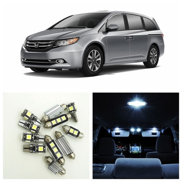 Honda Odyssey Modified Inspirational 15pcs White Car Led Light Bulbs Interior Package Kit for 2011 2012-758 Of Awesome Honda Odyssey Modified