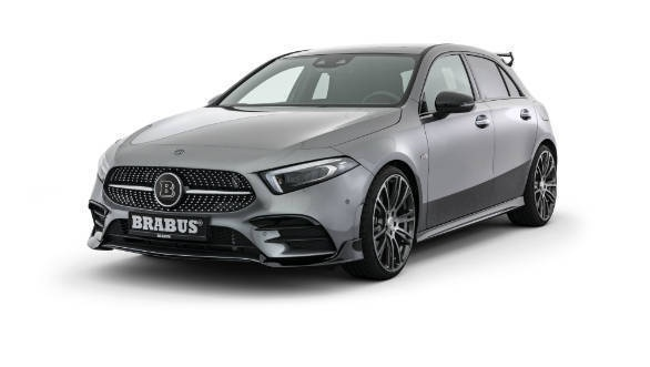 brabus brings an enhancement package to the 2019 mercedes benz a