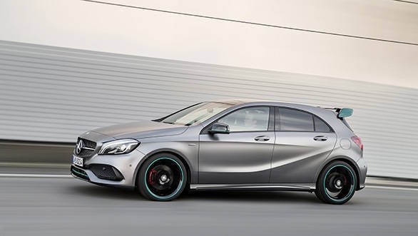 mercedes benz reveals the new generation a class overdrive