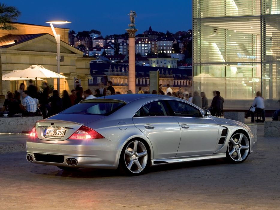 lorinser mercedes benz cls klasse c219 cars modified 2007