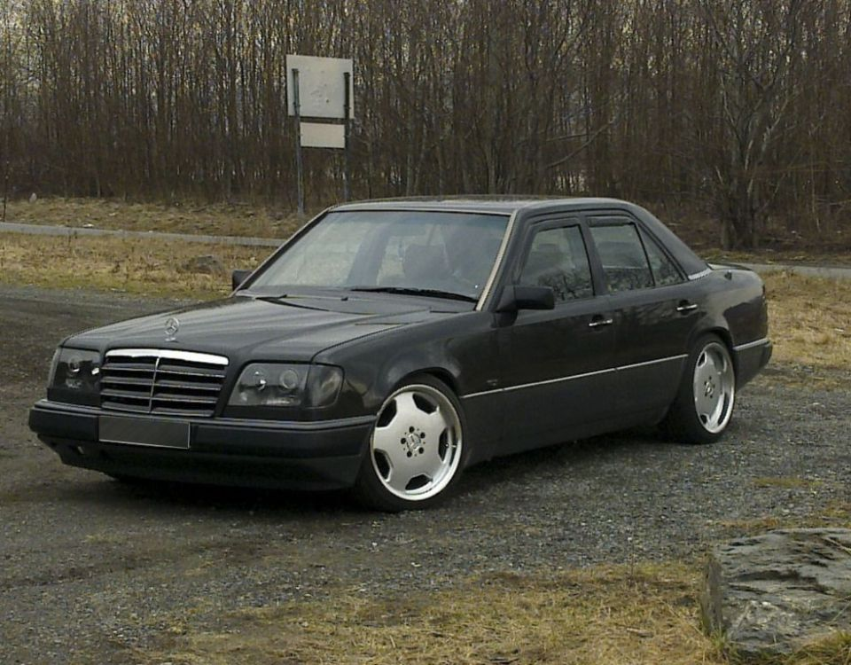 Mercedes Benz W124 Modified Awesome A Modified W124 Mercedes From norway Benz W124 Mercedes W124-1277-1277