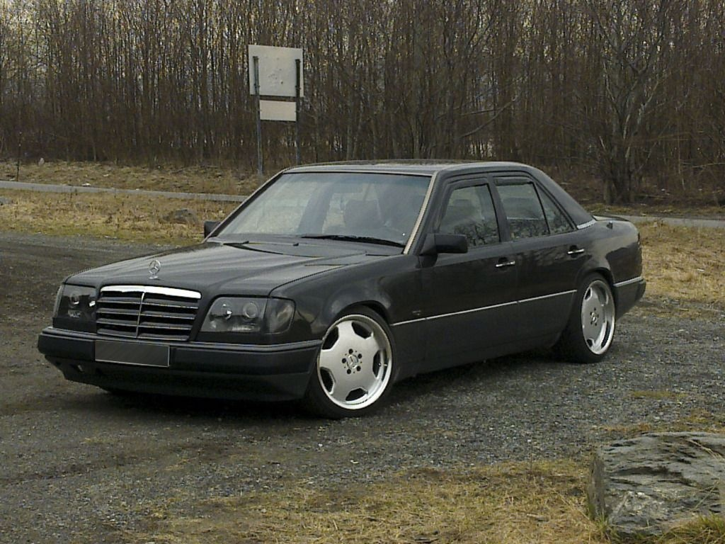 a modified w124 mercedes from norway benz w124 mercedes w124
