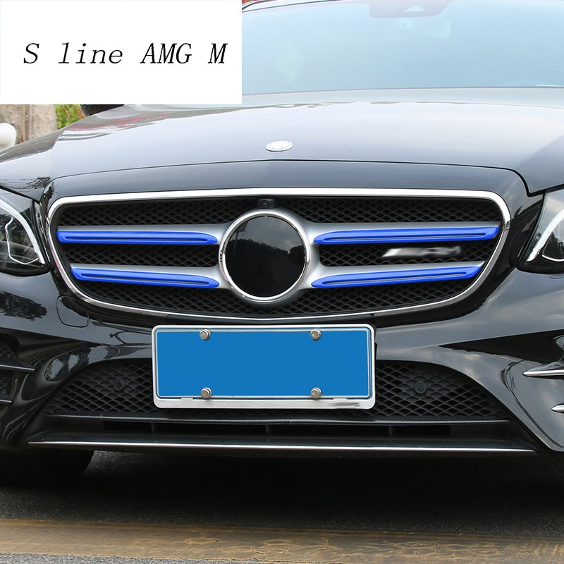 Mercedes C200 Modified Fresh Us 12 0 Car Styling for Mercedes Benz E Class W213 Front Middle Grill Grids Trim Bumper Sticker Cover Auto Head Modification Accessories In Car-1471 Of Beautiful Mercedes C200 Modified