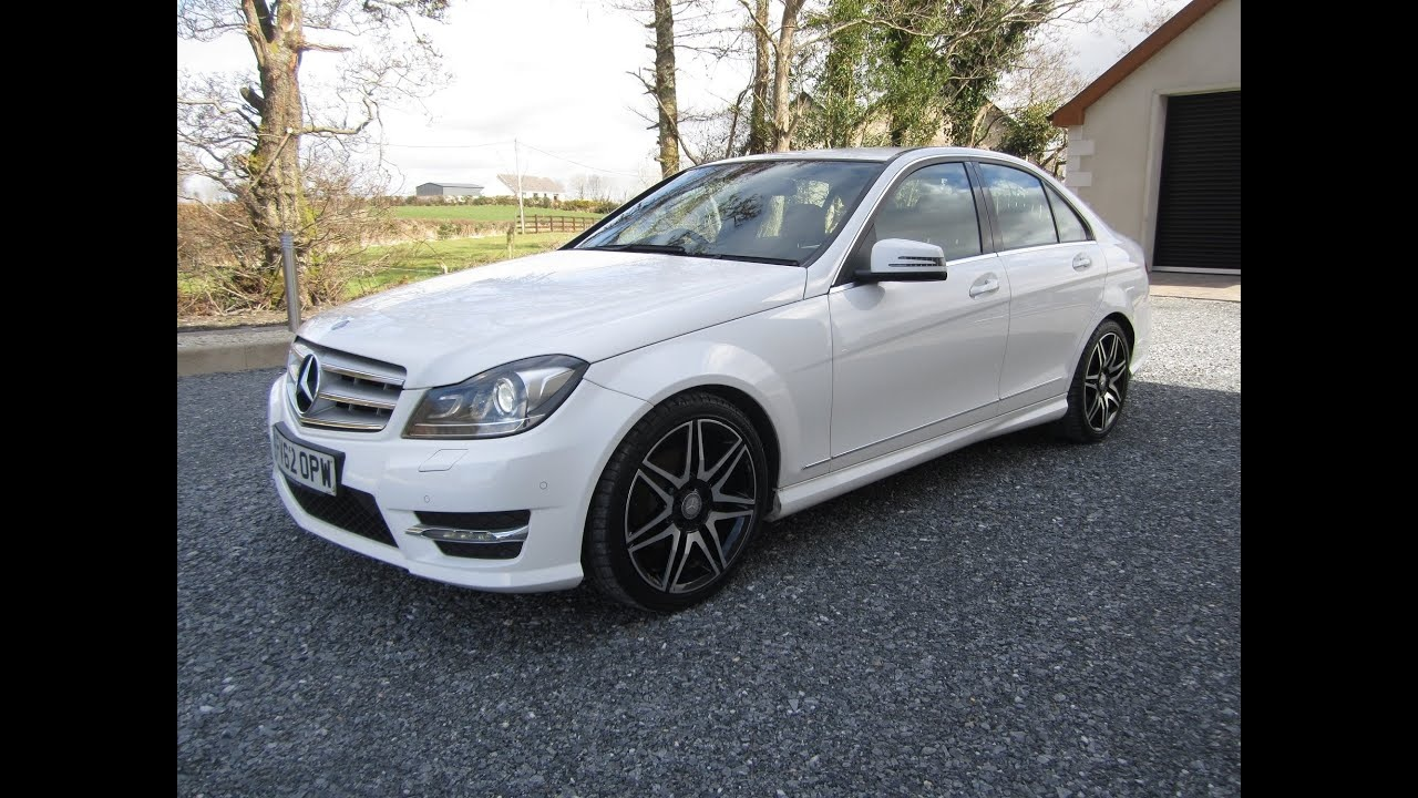 review 2013 mercedes benz c220 amg sport plus w204 youtube