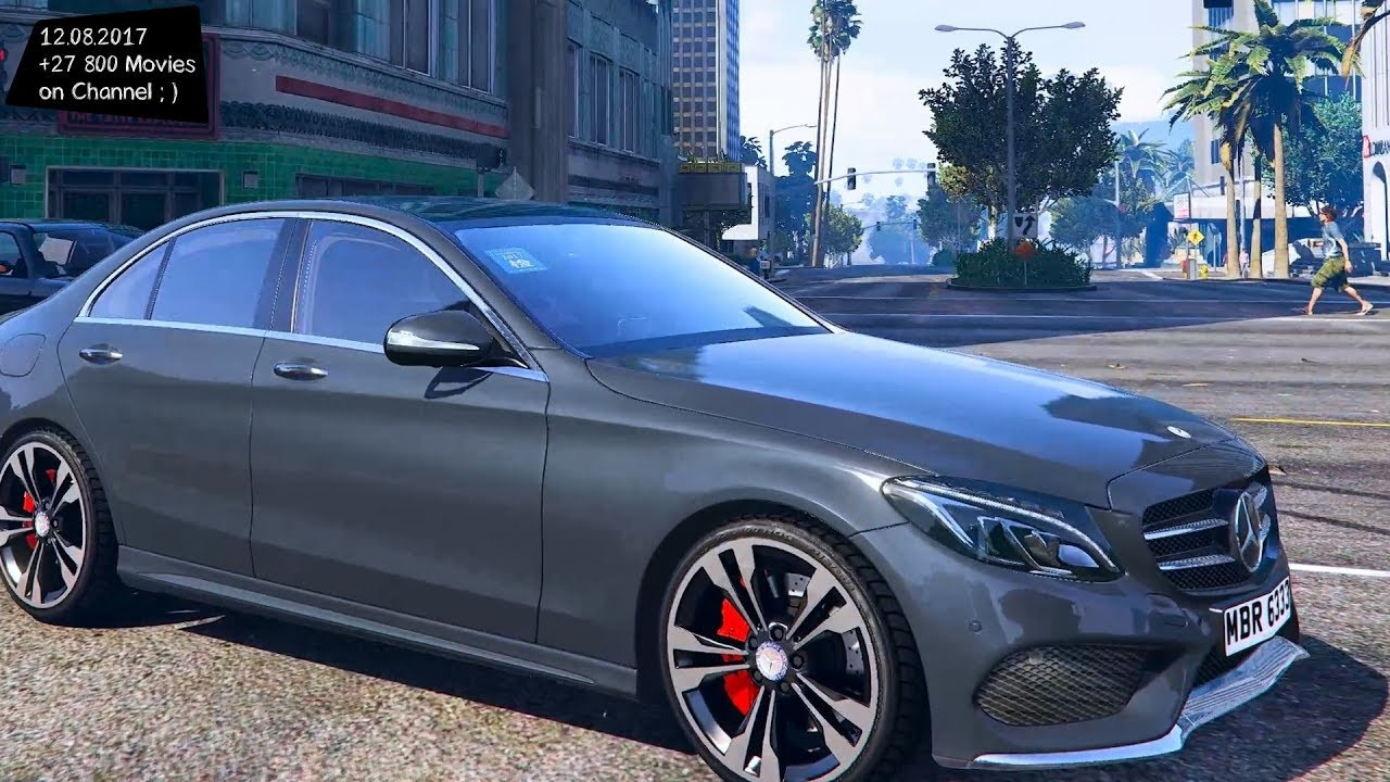 Mercedes C250 Modified Lovely Mercedes Benz C250 Amg Line 2015 1 0 New Enb top Speed Test Gta Mod-1394 Of Luxury Mercedes C250 Modified