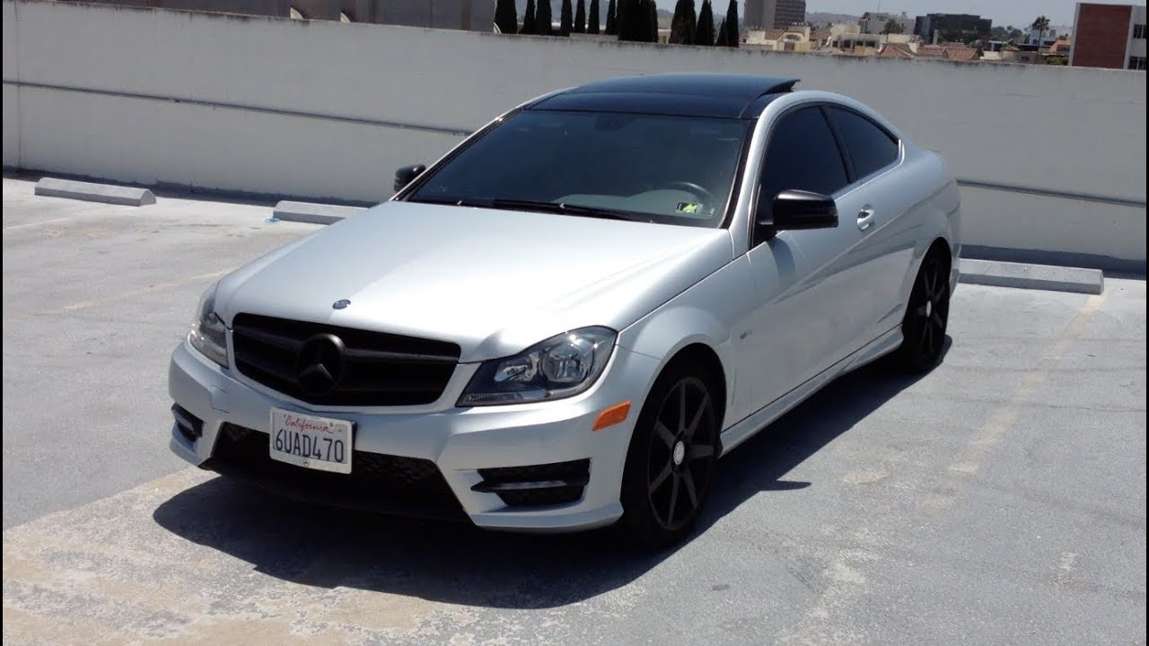 Mercedes C250 Modified Lovely My 2012 Mercedes Benz C250 Coupe Walk Around Review Exhaust Revs-1394 Of Luxury Mercedes C250 Modified