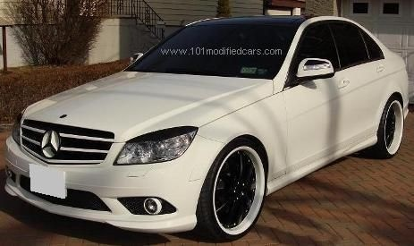 modified mercedes benz c class w204 third generation rico