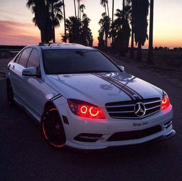 Mercedes C300 Modified New 2011 Mercedes Benz C300 Custom Factory Amg aftermarket Upgrades My-1801-1801