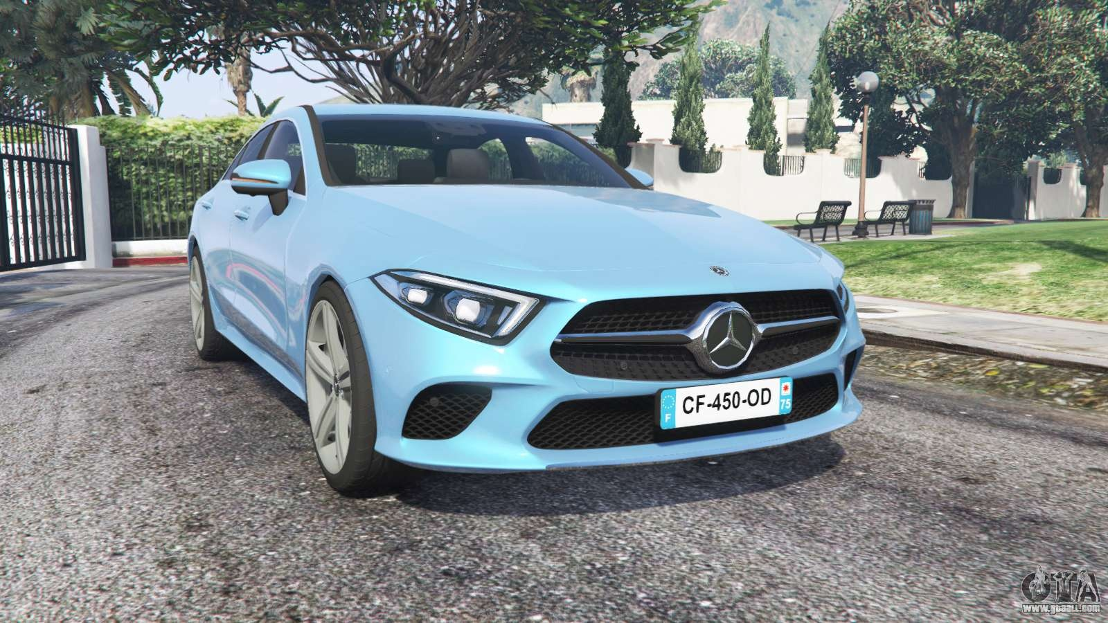 mercedes benz cls 450 c257 2018 replace for gta 5
