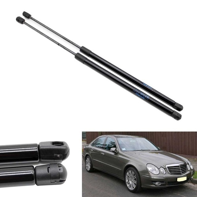 2pcs auto bonnet hood lift support gas struts for mercedes ben z