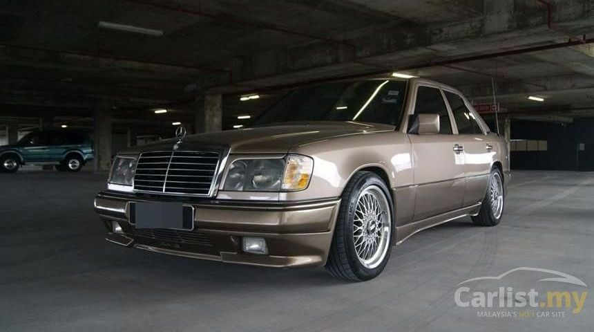 Mercedes E230 Modified New Mercedes Benz E230 1990 2 3 In Kuala Lumpur Automatic Bronze for Rm-1697-1697