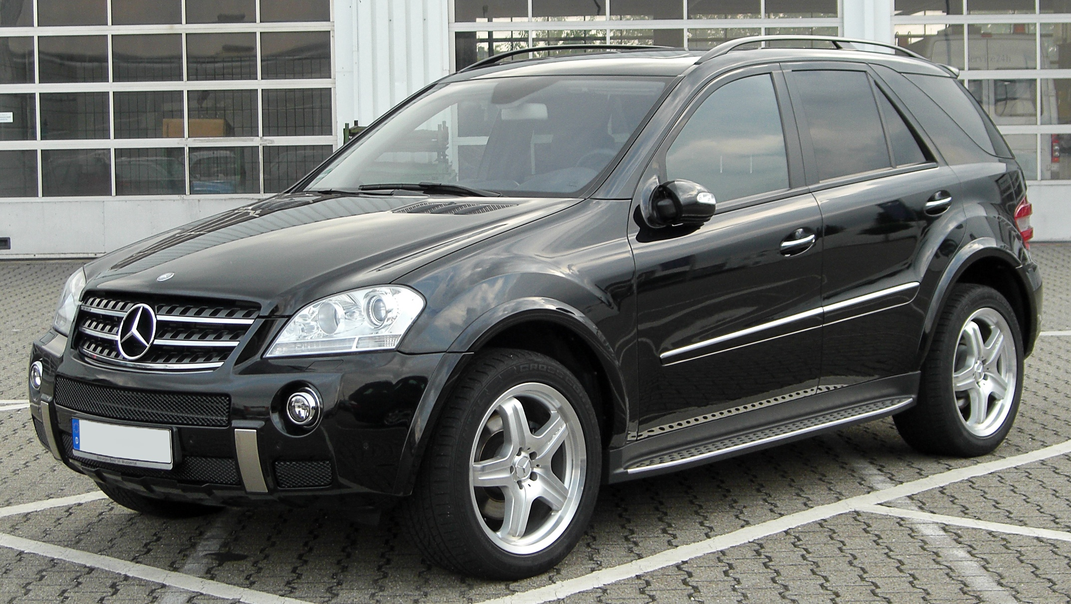 filemercedes ml amg sportpaket w164 front 20100722