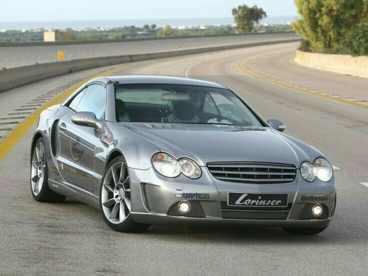 Mercedes Sl Modified Unique 2007 Lorinser Nardo Mercedes Sl 55 Amg Mercedes Mercedes Benz-1484-1484