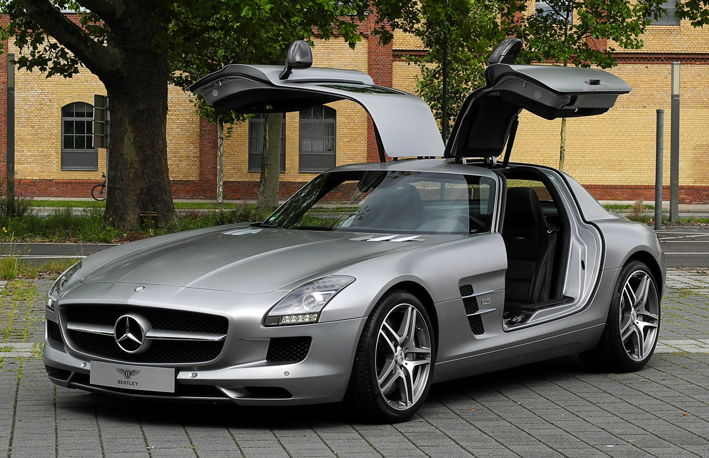 Mercedes Sl Modified Unique Filemercedes Benz Sls Amg C 197 Frontansicht Gea¶ffnet 10-1484 Of Lovely Mercedes Sl Modified