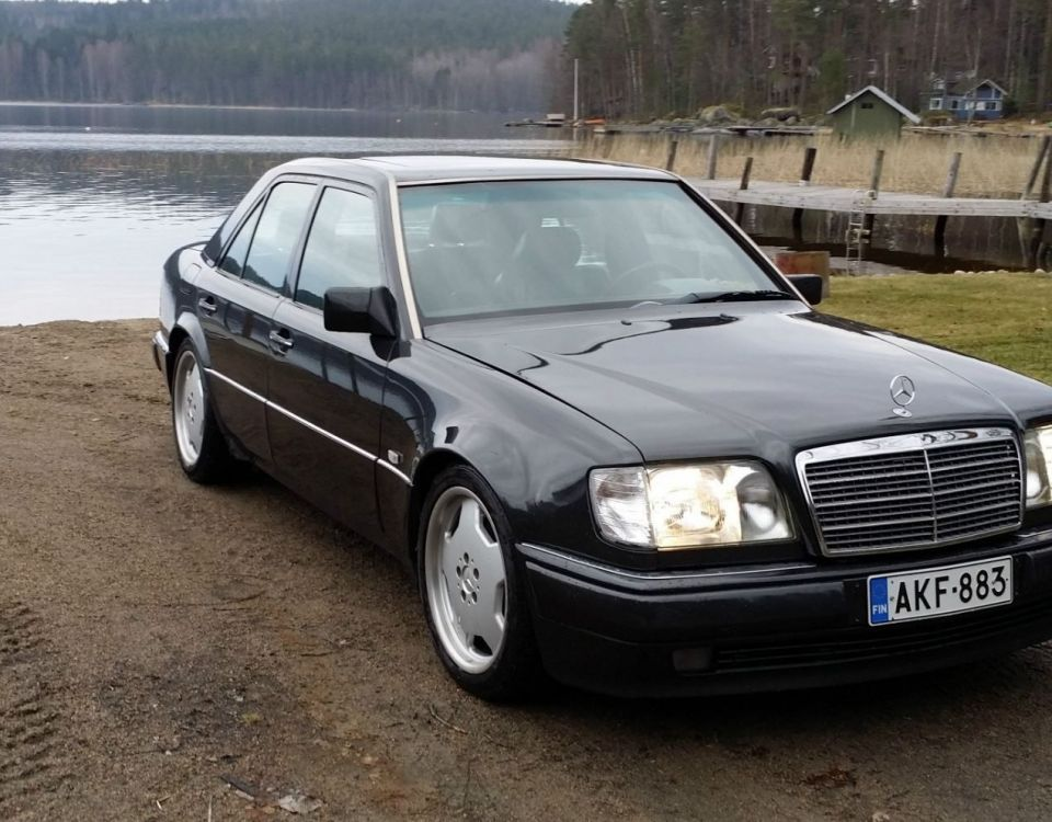 Mercedes W124 Modified Luxury W124 500 E Bonnet Mercedes Benz Mercedes Mercedesbenz Amg-1355-1355
