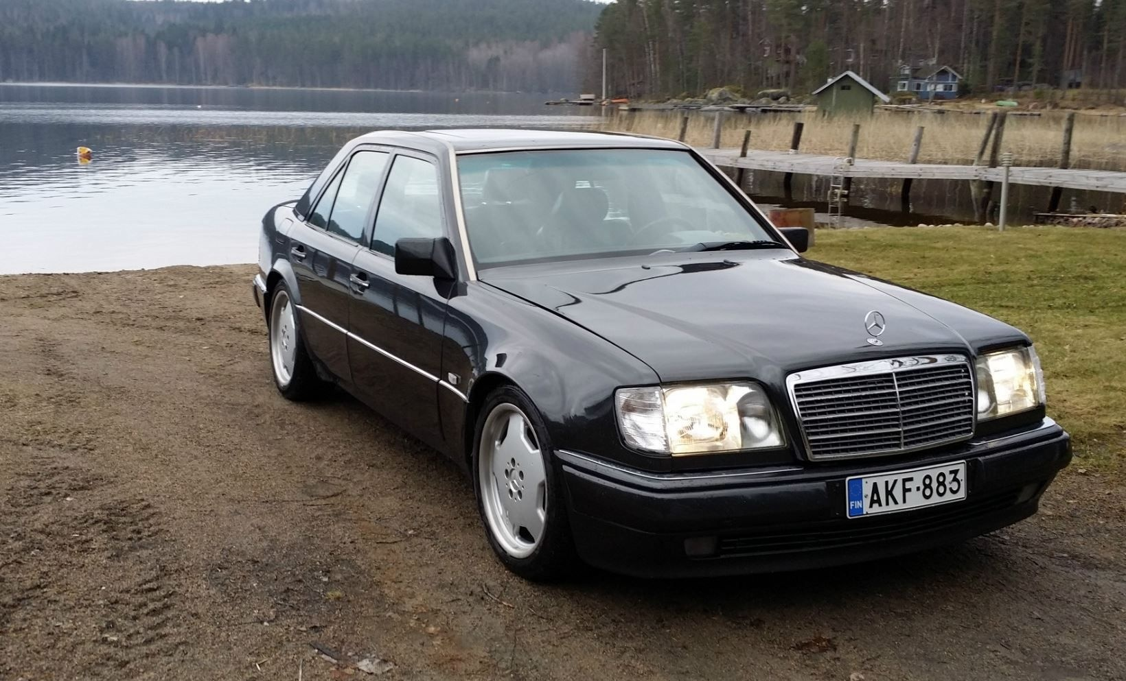 Mercedes W124 Modified Luxury W124 500 E Bonnet Mercedes Benz Mercedes Mercedesbenz Amg-1355 Of Fresh Mercedes W124 Modified