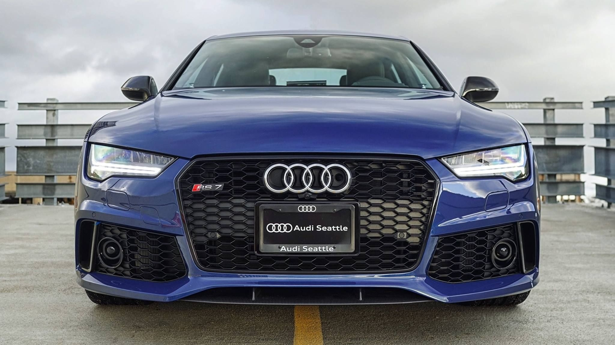 ascari blue rs7 performance all up in your grille audiseattle com