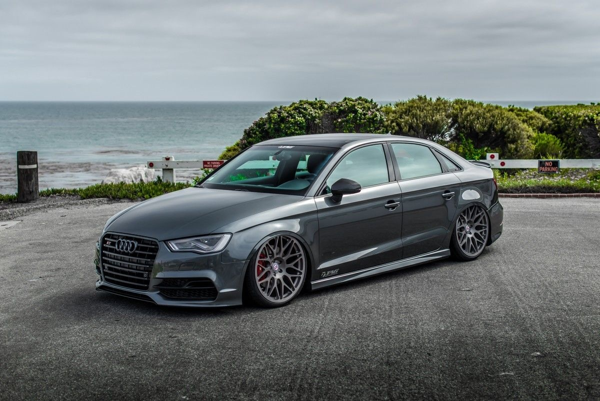 tag motorsports audi s3 accuair suspension audis all day
