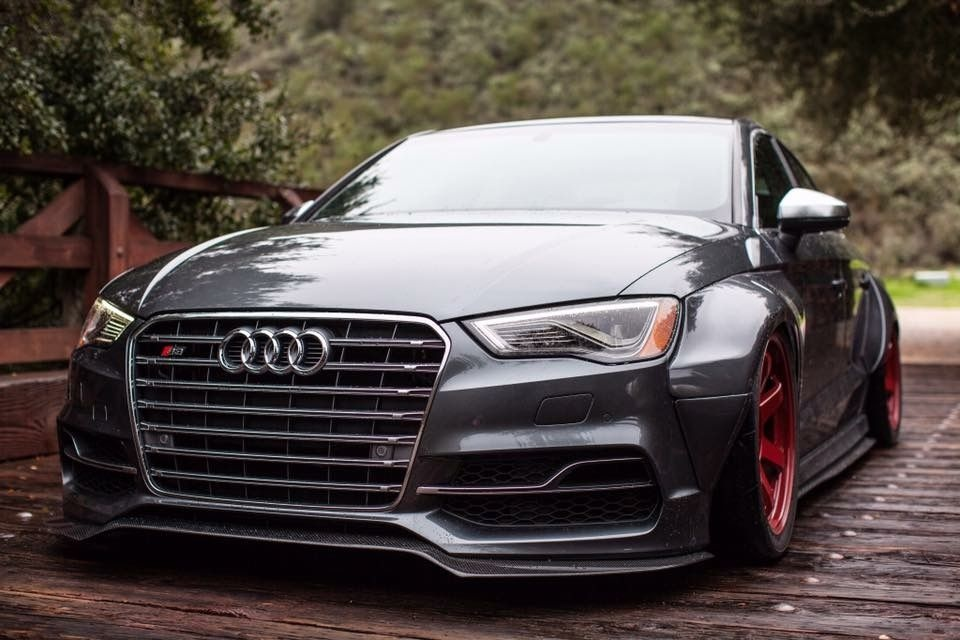 audi a3 widebody modified bagged slammed cars audi audi a3