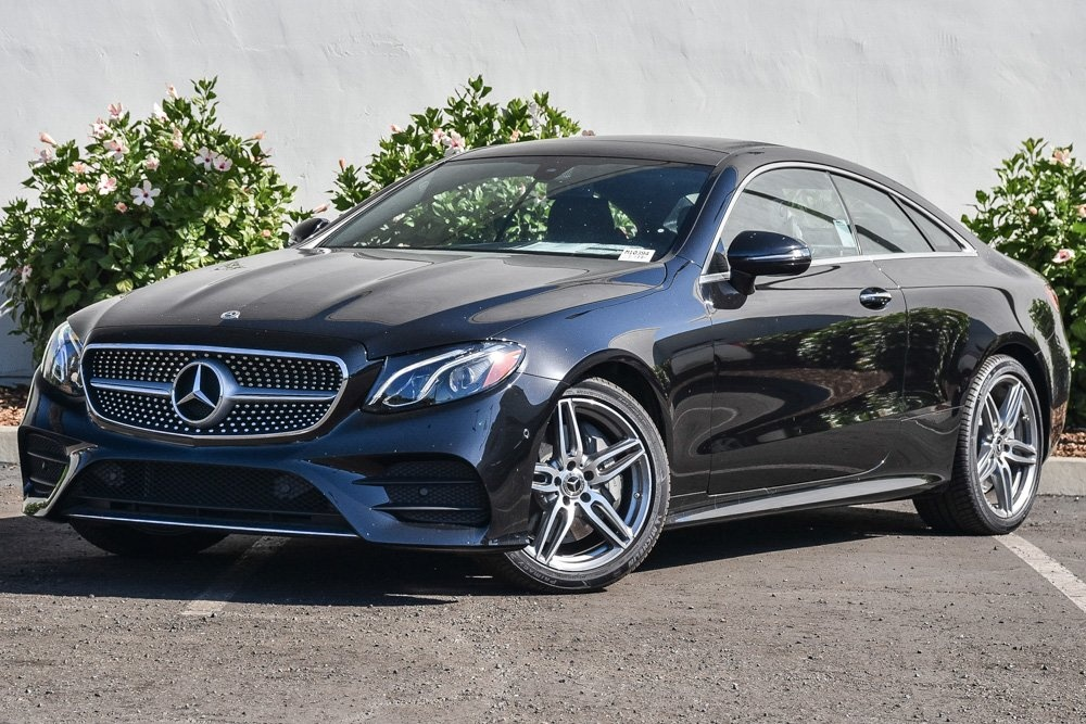 new 2018 mercedes benz e class e 400 sport coupe in santa barbara