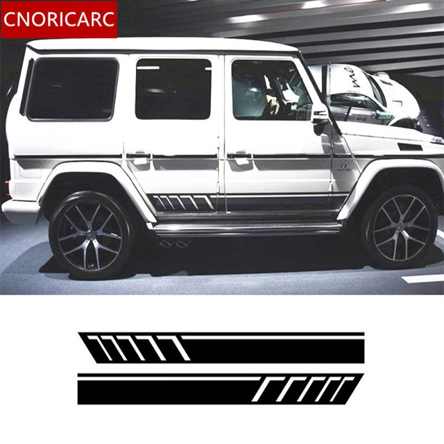 Modified Mercedes Ml Elegant Cnoricarc Car Side Skirt Decal Body Modified Customized Sport-2356 Of Fresh Modified Mercedes Ml