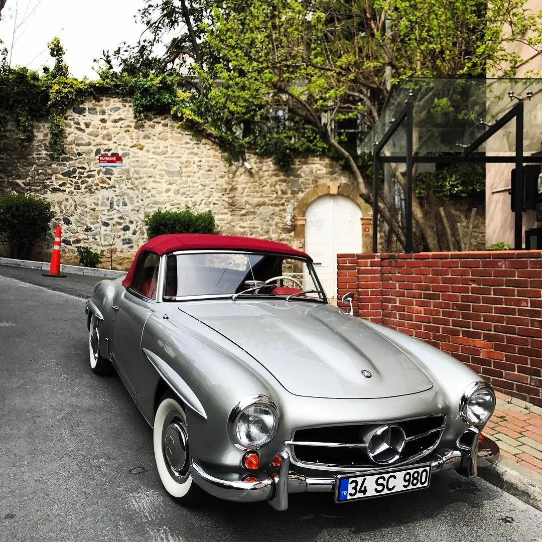 mercedes benz 190sl pic via instagram 190slrestorations