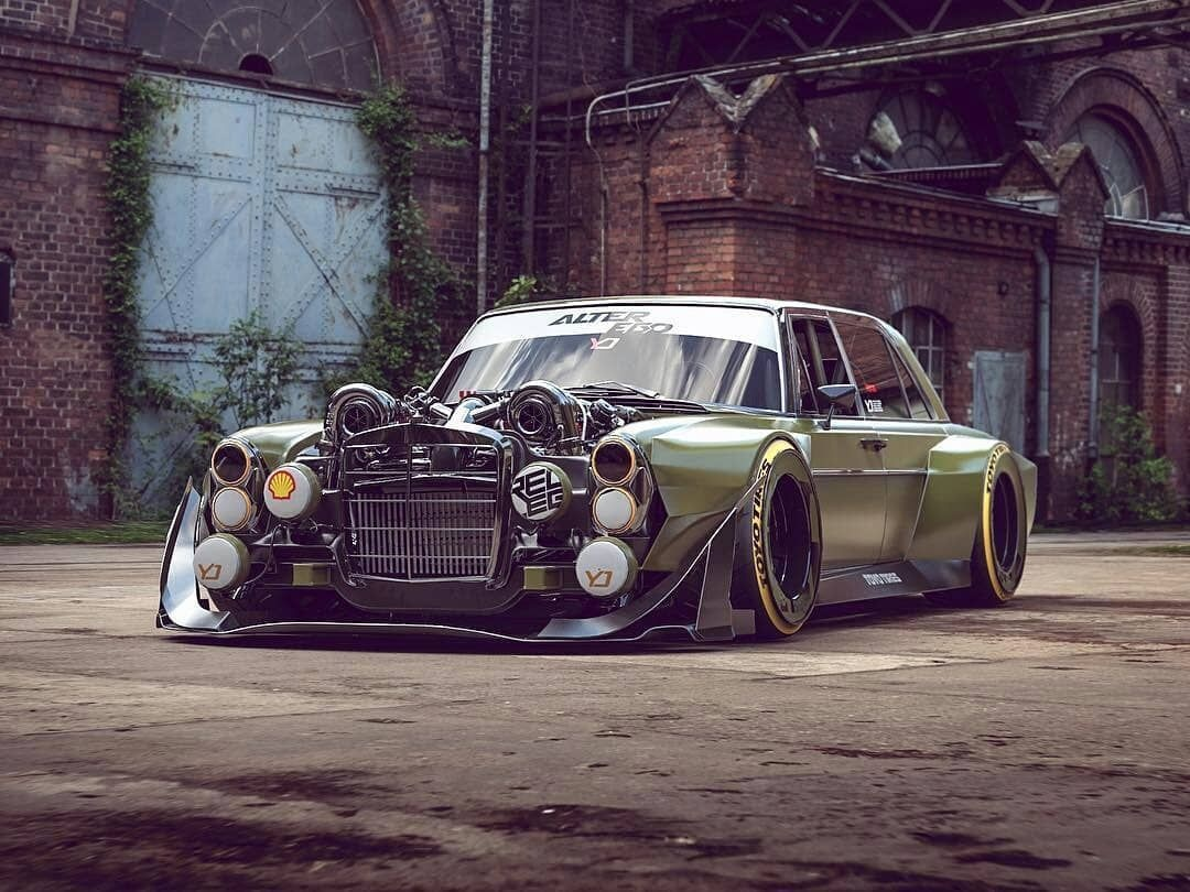 Old Mercedes Modified Best Of 560sec Amg On Steroids DŸ'‰ • Cool Car Art Pinterest-2061 Of Fresh Old Mercedes Modified